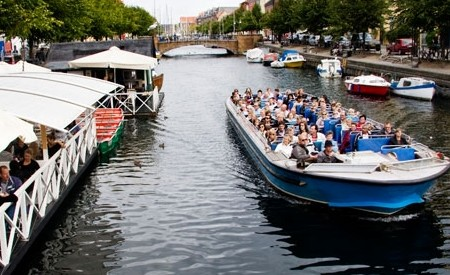 Canal tours in Copenhagen